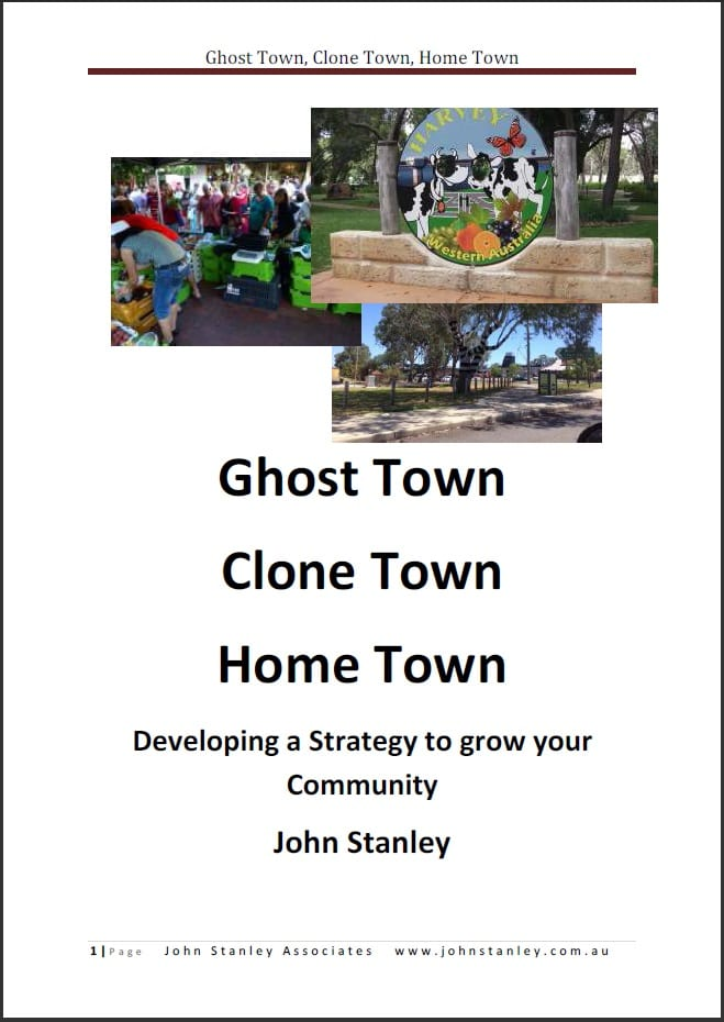 How does a Town become a Ghost Town ?